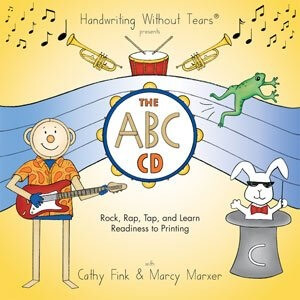 Handwriting Without Tears CD Song List – Rock, Rap, Tap & Learn CD Songs