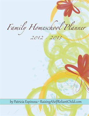 free family homeschool planner 2012-2013