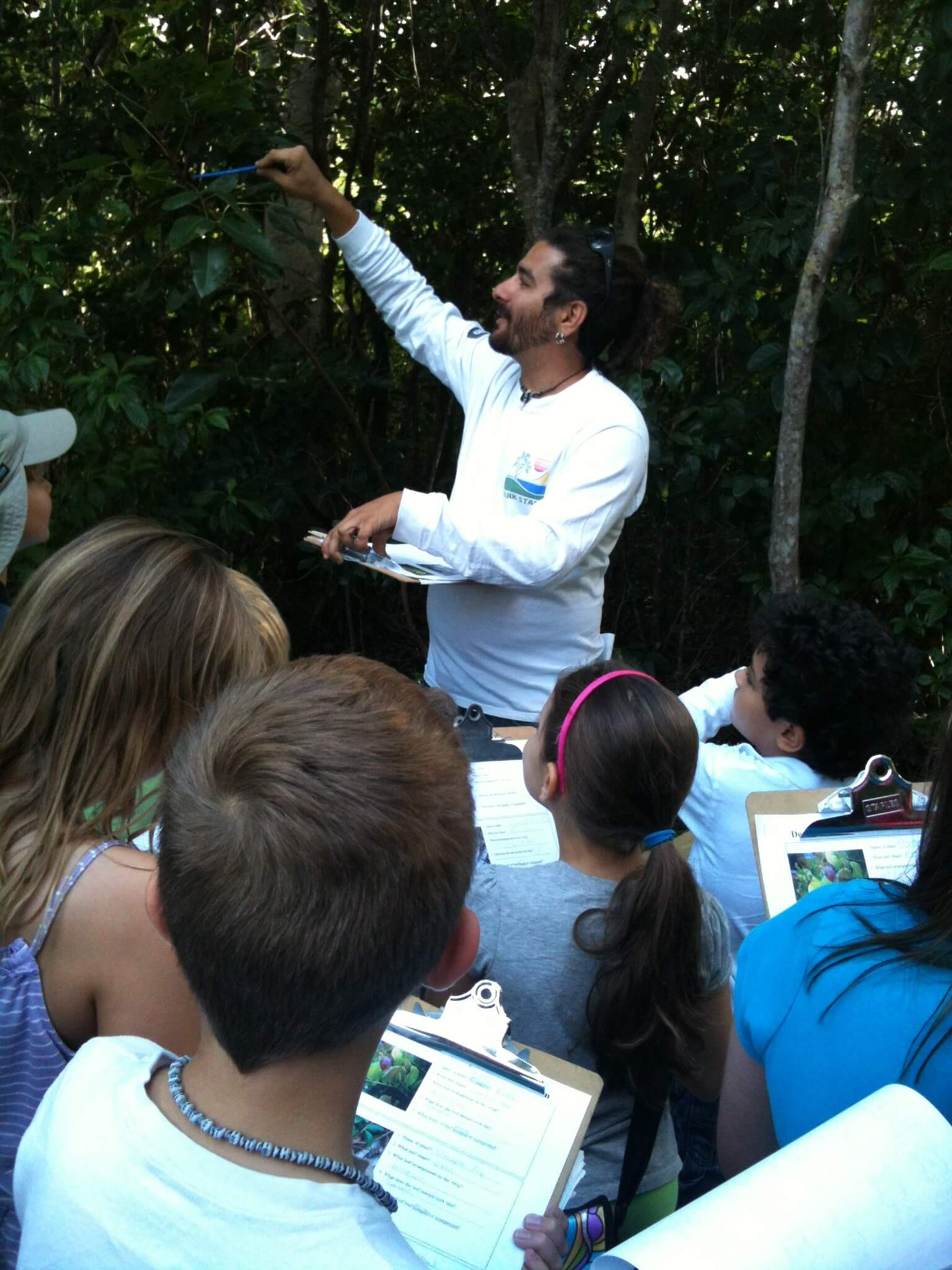 Leaf Identification at Deering Estate