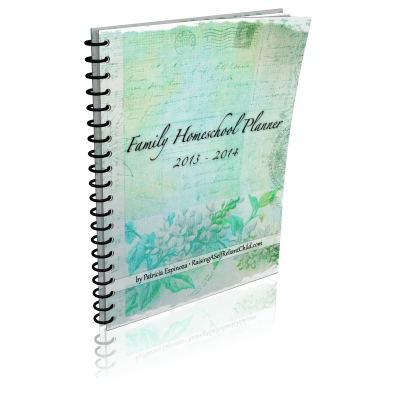 Homeschool planner 2013-2014