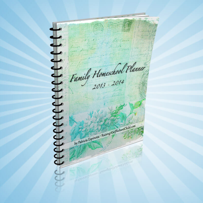 Homeschool Planner 2013-2014 PDF Giveaway (closed)
