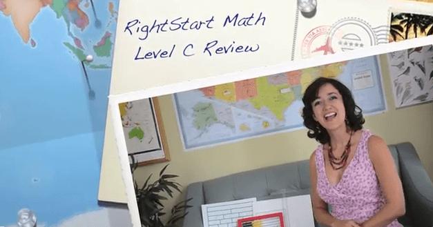 Homeschool Math Curriculum Review RightStart Math Level C