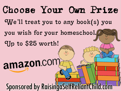 Choose Your Own Prize up to $25 Worth Giveaway (Closed)