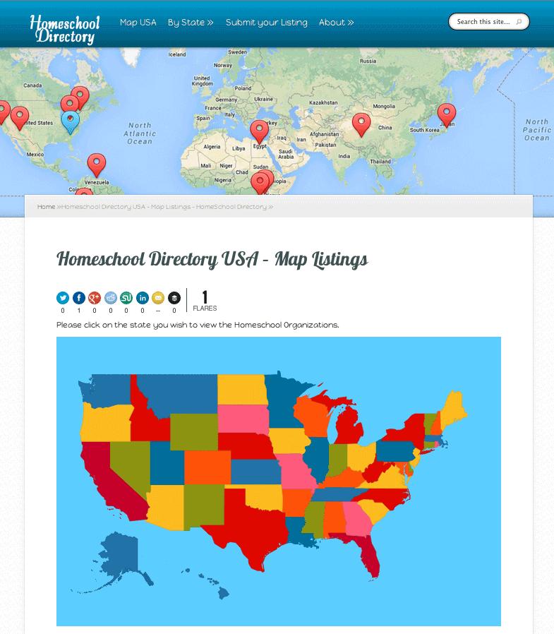 Homeschool Directory Local Homeschool Associations in USA