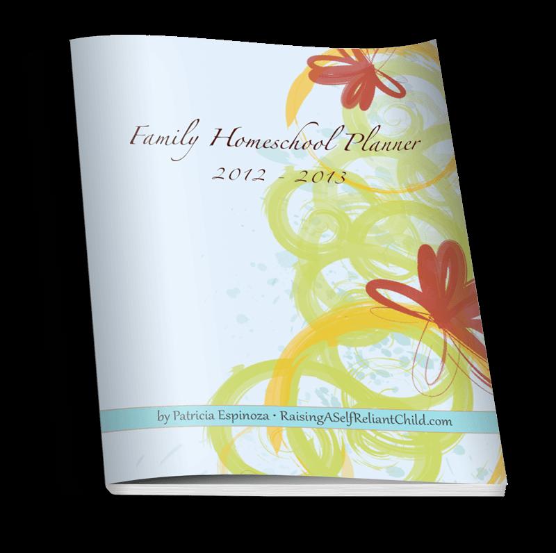 free homeschool planner printable 2012-2013