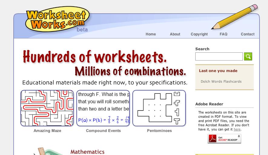 10 Free Teaching Resource Websites. Worksheet. Worksheet Works Language Arts At Clickcart.co