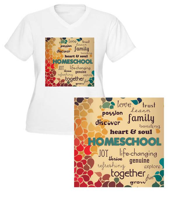 homeschool tag cloud merchandise