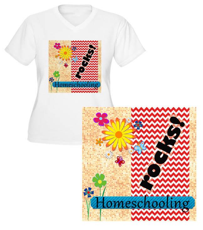 homeschooling rocks merchandise