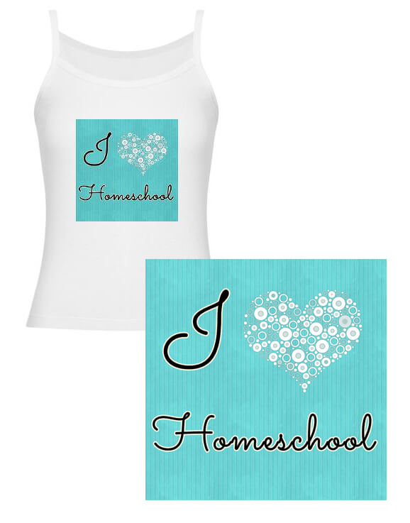 I love homeschool merchandise