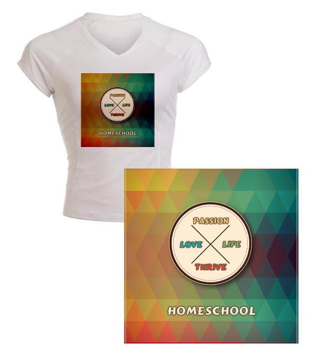 love life passion thrive homeschool merchandise