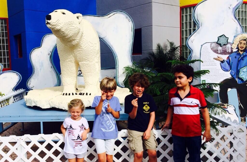 Lego Animals Exhibit at the Miami Zoo