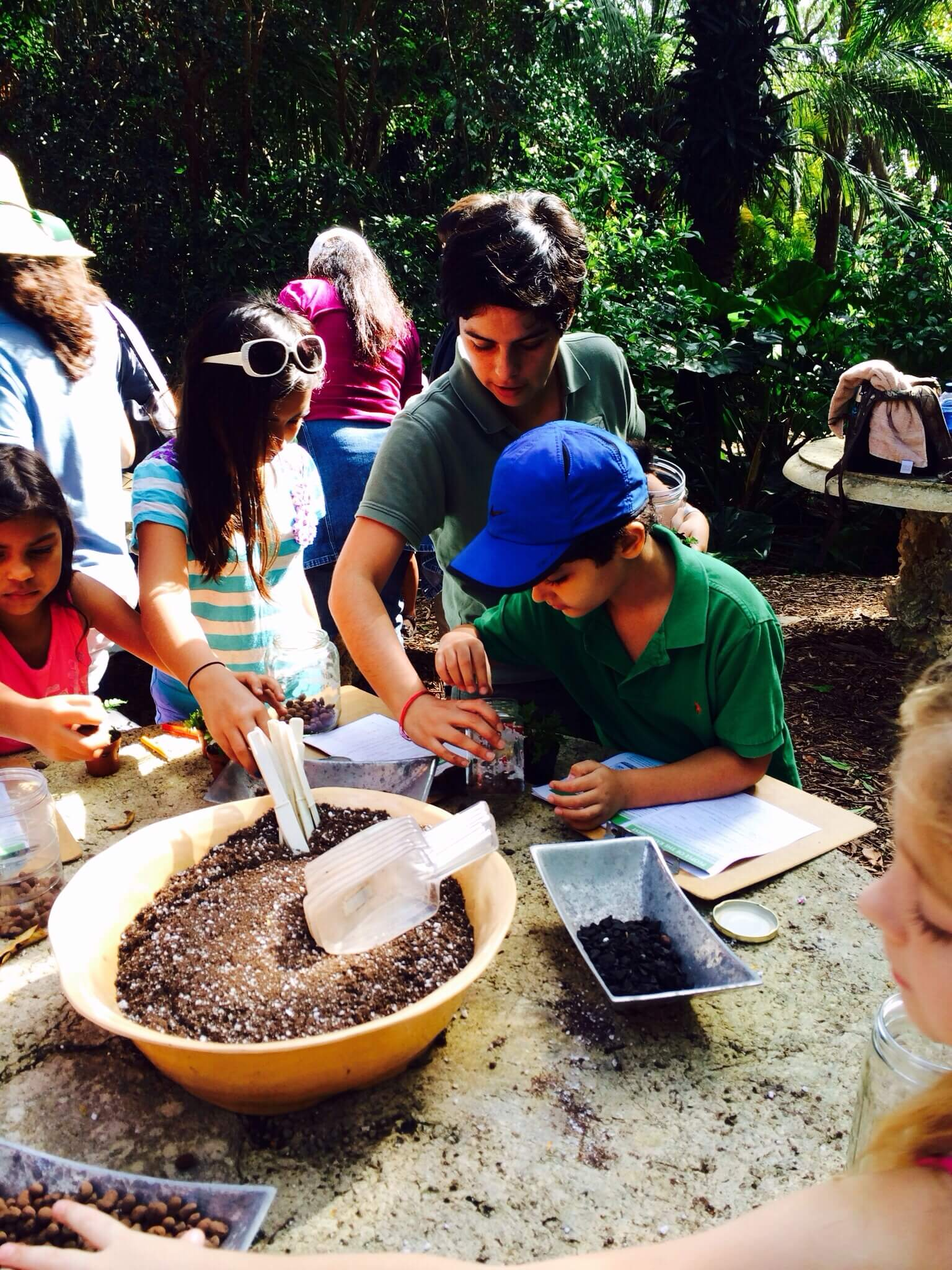 Tropical rainforests class for homeschoolers at Fairchild