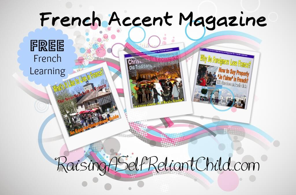 Learn French for Free with French Accent Magazine
