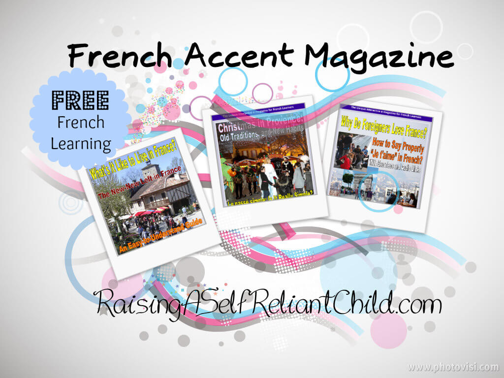 free french learning resources homeschool