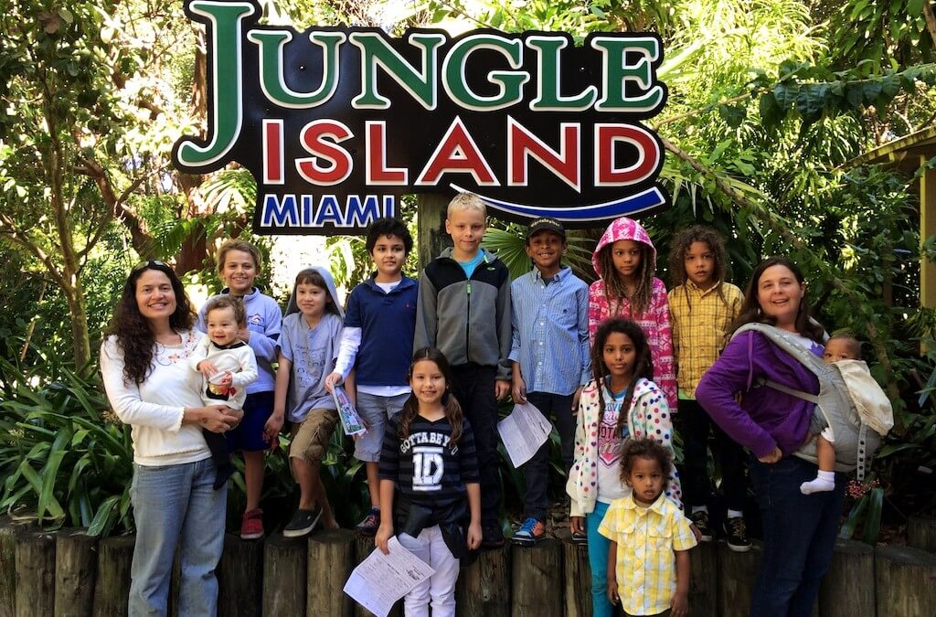 Jungle Island Field Trip with Homeschoolers of Miami HOME