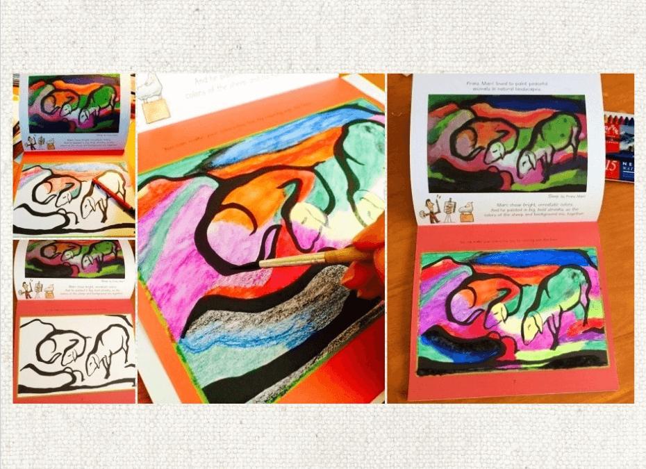 Usborne's Gorgeous Art Coloring Book