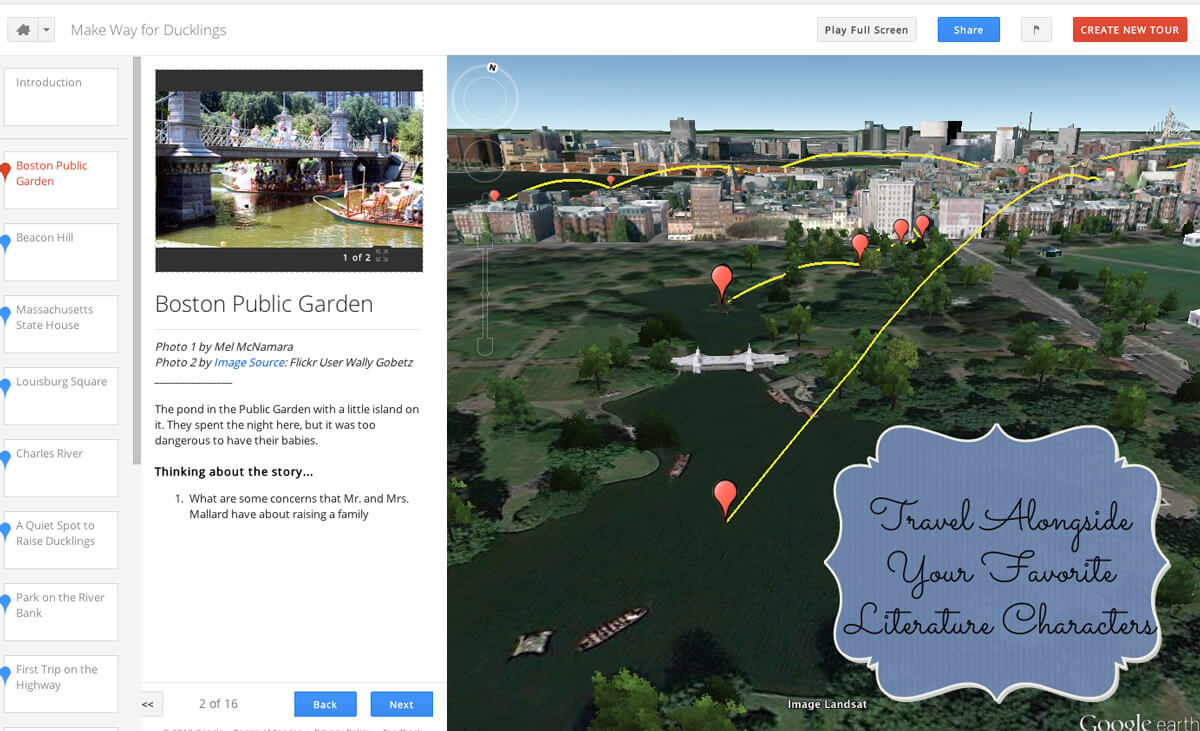 virtual tours homeschool