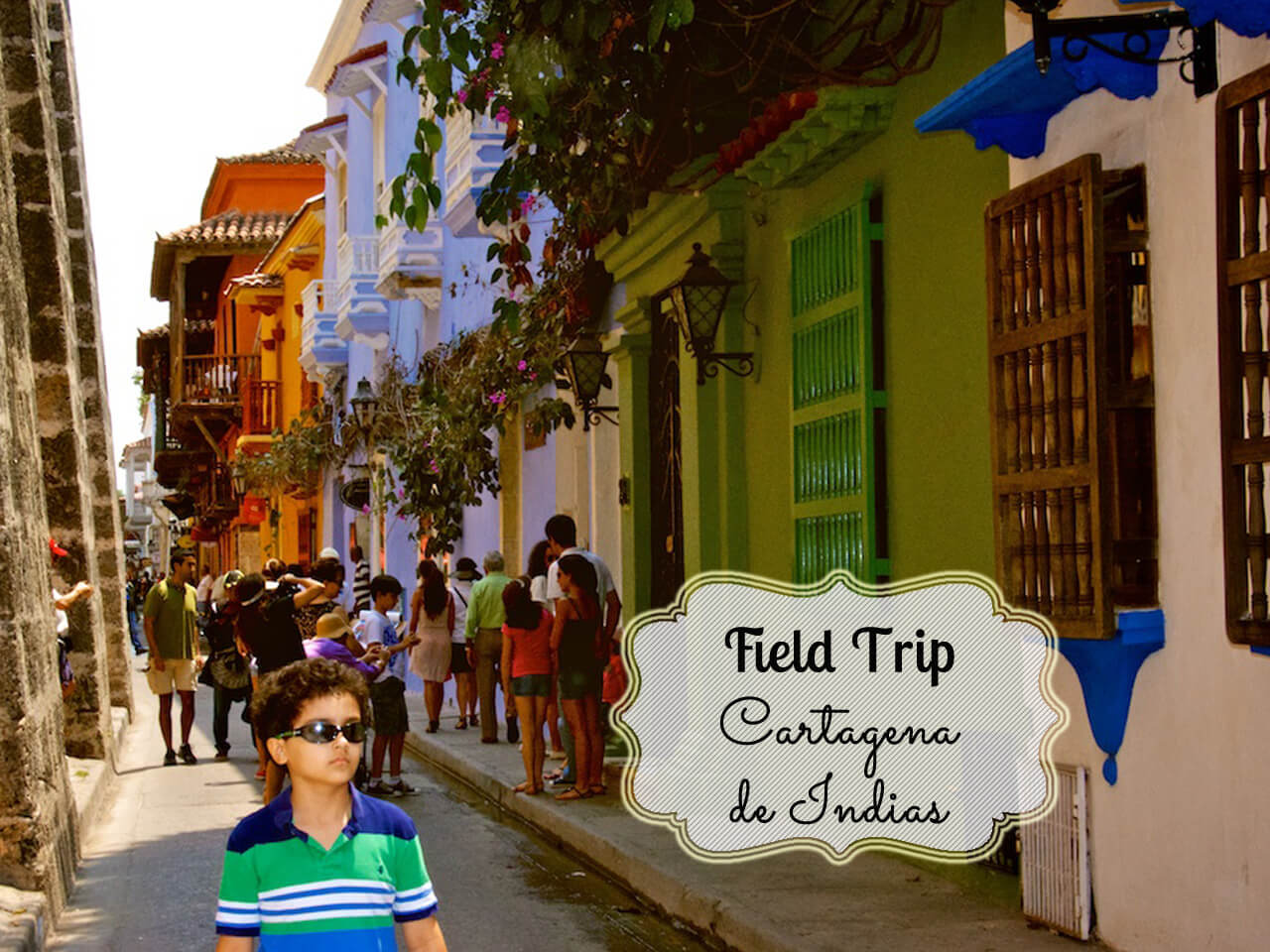 field trip to Cartagena de Indias, Colombia