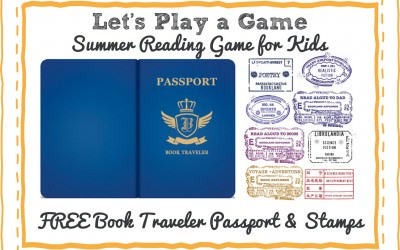 Free Children's Summer Reading Game Book Traveler Passport Printable