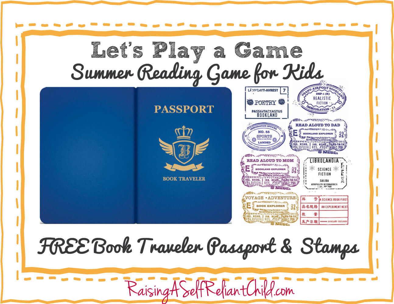Printable Passport for Kids