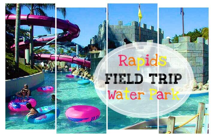 Rapids Water Park Field Trip with PATH