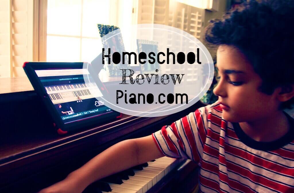 Homeschool Piano Lessons ~ HomeSchoolPiano Review