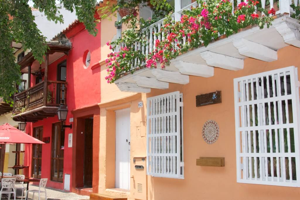 Cartagena de Indias spanish parallel text