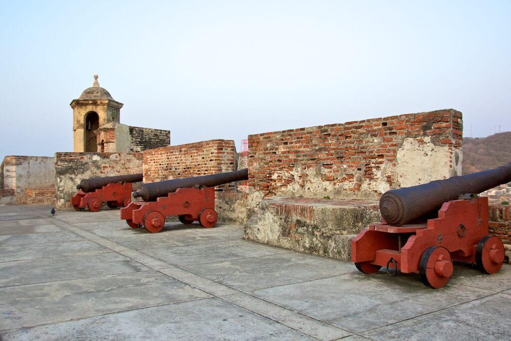 cartagena walls and forts