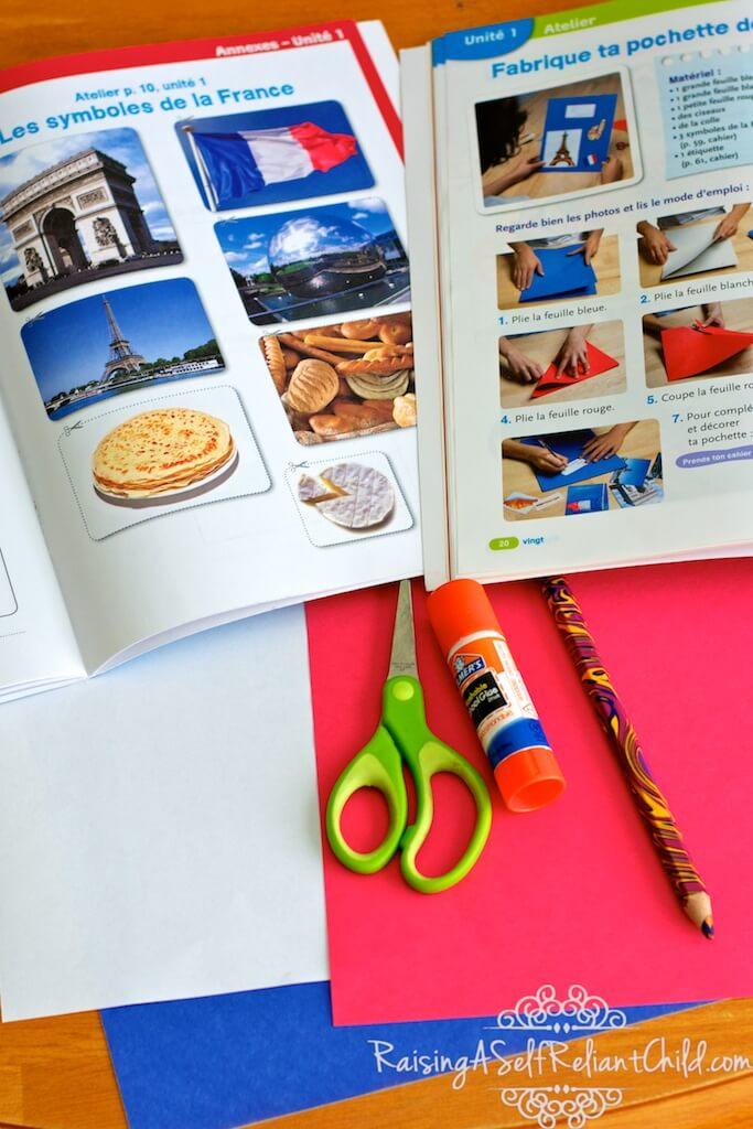 creating a French culture portfolio