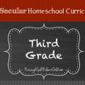 our secular homeschool curriculum third grade