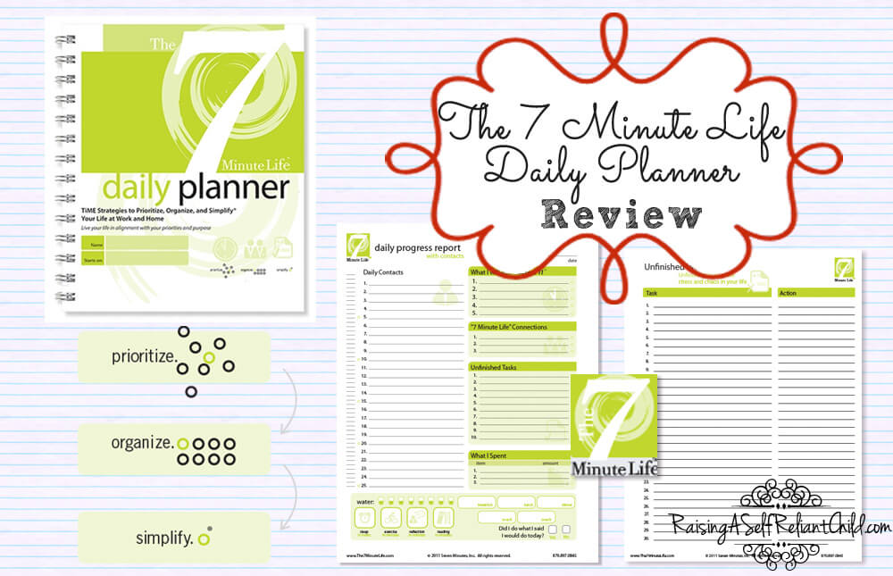 7-minute-life daily planner