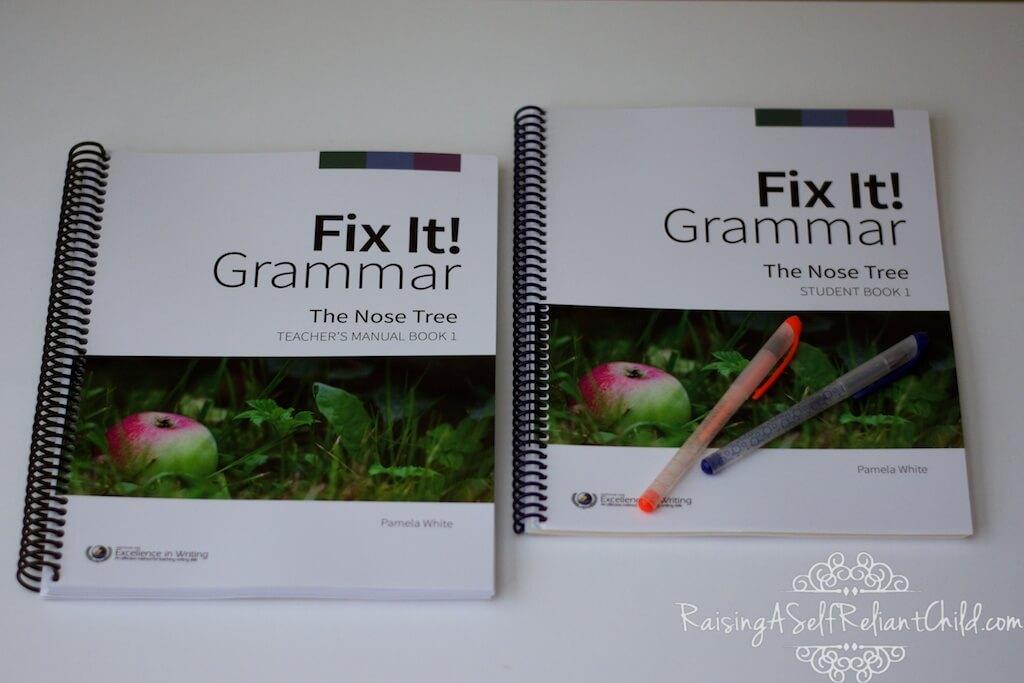fix it grammar homeschool curriculum review