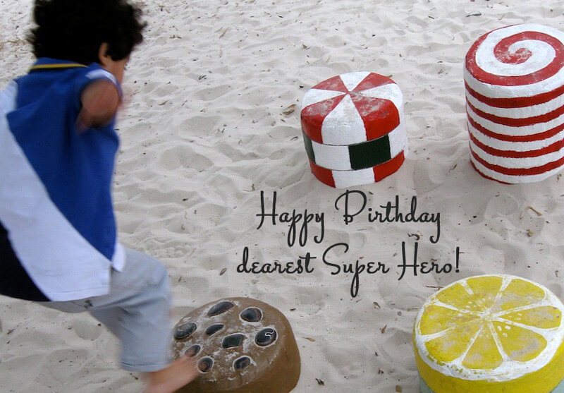 Happy Birthday Super Hero – A Photo Letter to My Son