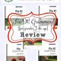 homeschool grammar curriculum fix-it-grammar-review