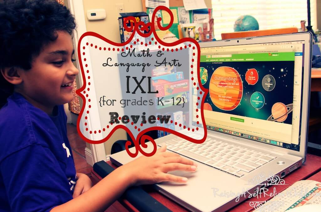IXL Math Language Arts Online Practice ~ Review
