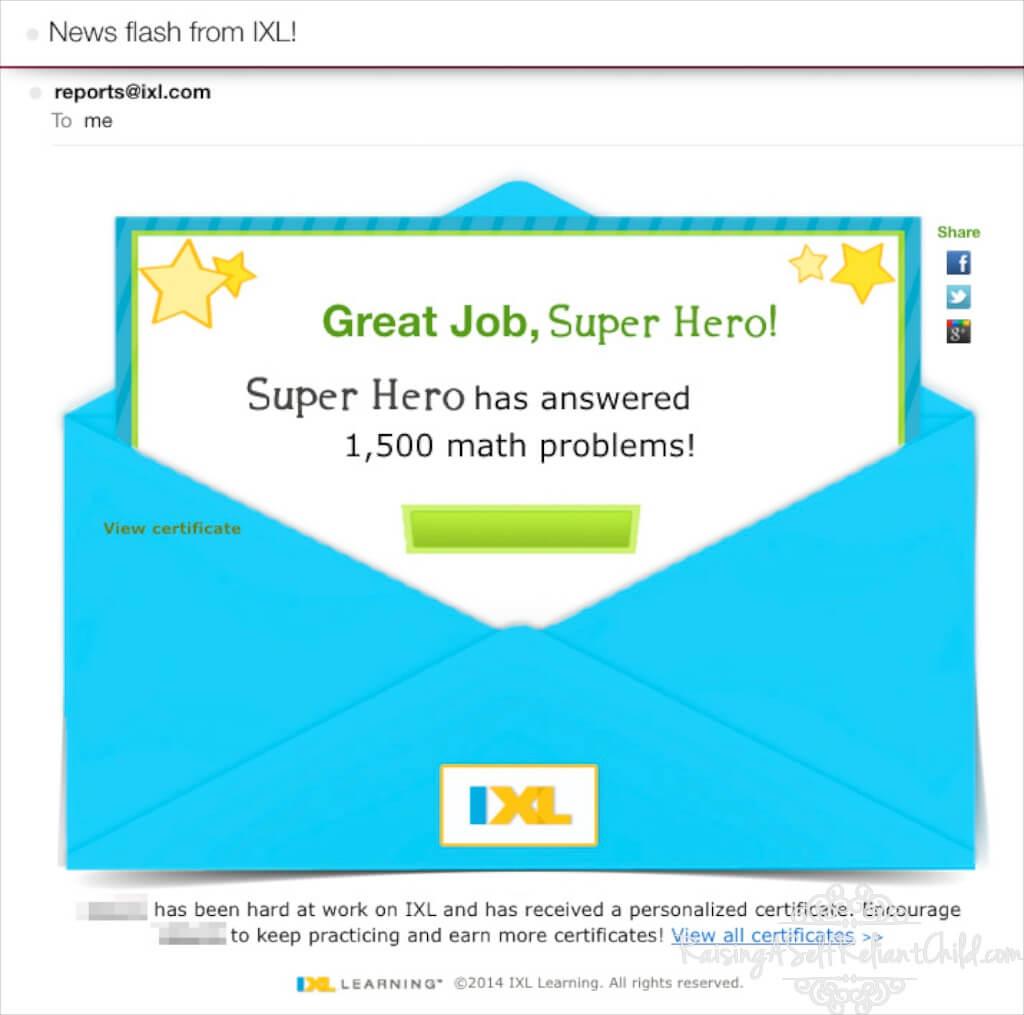 IXL Math Language Arts Online Practice ~ Review