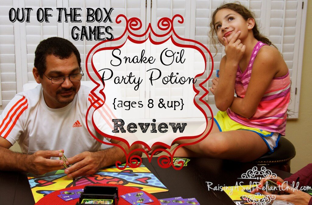 Out of the Box Games Review ~ Snake Oil Party Potion