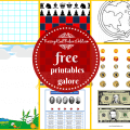 12 free printables sites homeschool