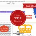 history timeline free #homeschool (1)