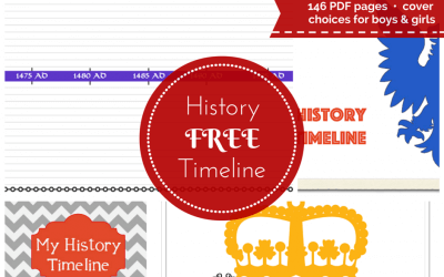 FREE Printable History Timeline for Your Homeschool