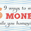 how-to-make-money-while-homeschooling