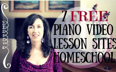7 Free Piano Lessons Sites Homeschool