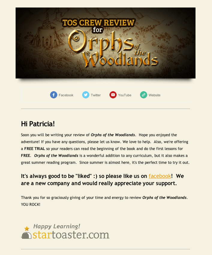 orphs of the woodlands free trial