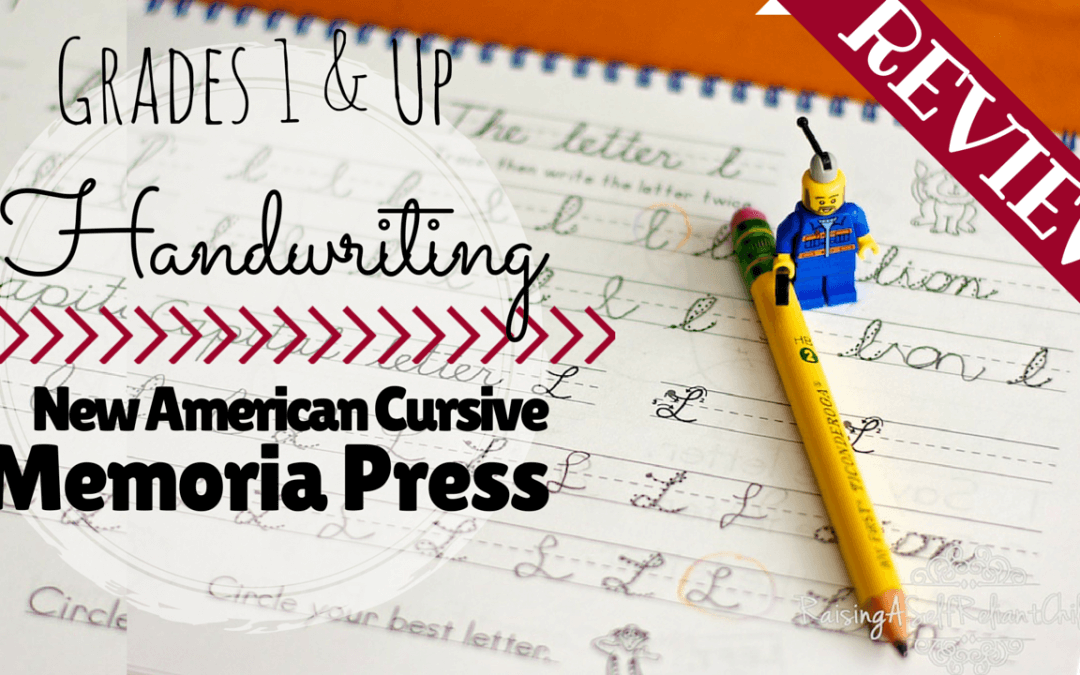 New American Cursive Handwriting Review