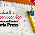cursive handwriting homeschool