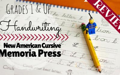 New American Cursive Handwriting Review