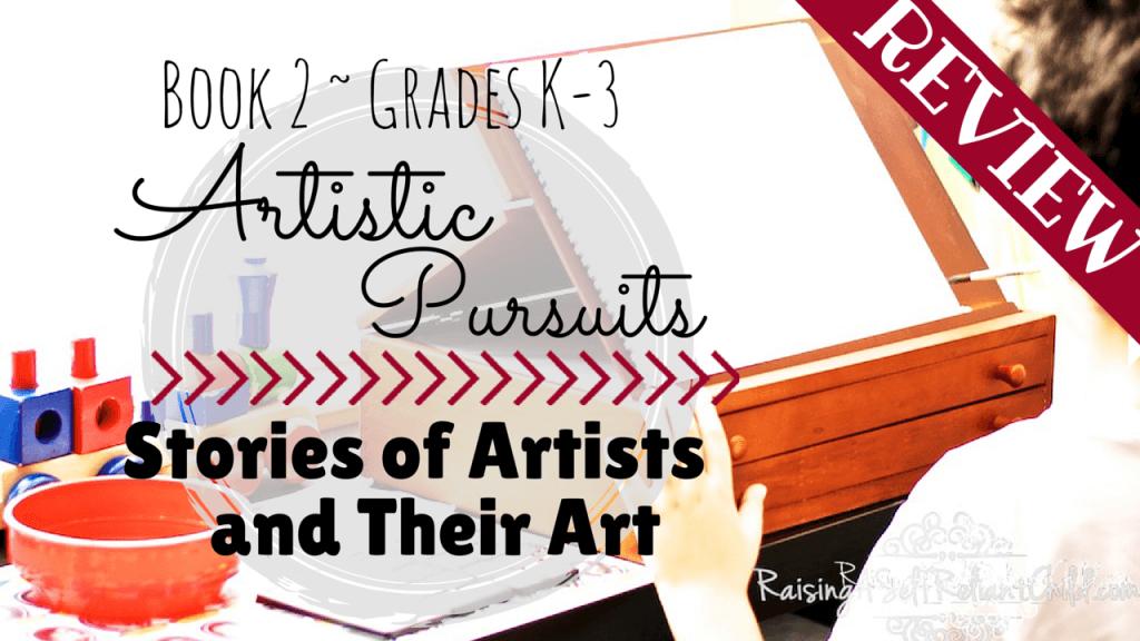 artistic pursuits homeschool review