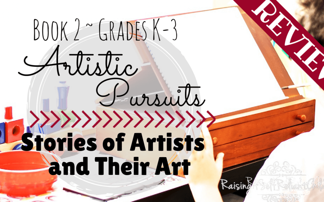 ARTistic Pursuits Review ~ Homeschool Art Curriculum