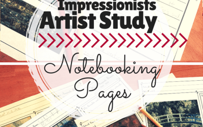 FREE Impressionists Artist Study Notebooking Pages