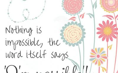 Free Printable ~ Homeschool Inspirational Quotes #8
